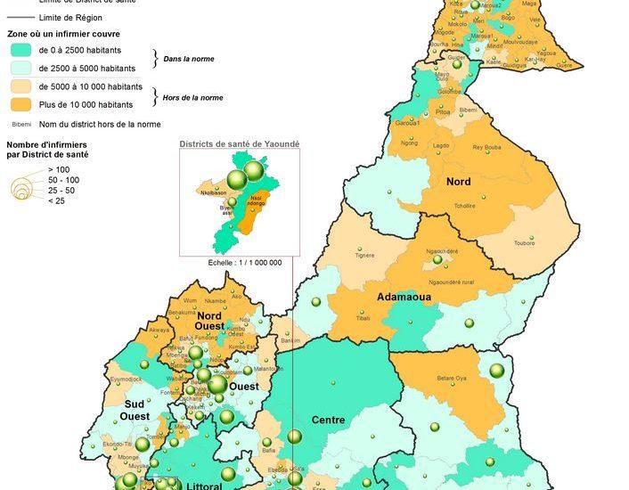 RÉPARTITION DE LA CHARGE DES INFIRMIERS DANS LES DISTRICTS DE SANTÉ (ANALYSE DE LA COUVERTURE SANITAIRE AU CAMEROUN)