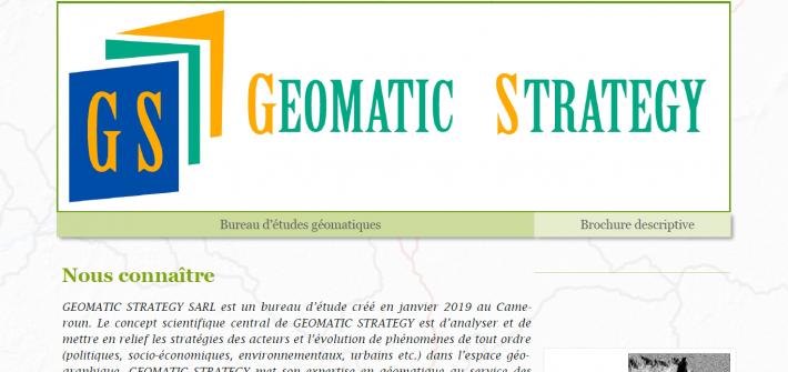 Illustration présentation Geomatic Strategy